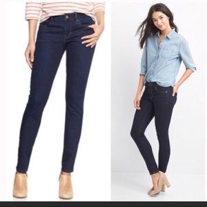 GAP Always Skinny dark wash jean size 31/12R
